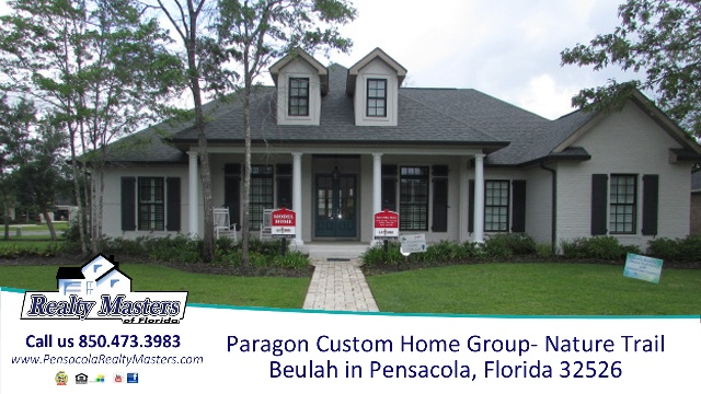 Paragon Custom Homes, New Construction homes in Beulah Florida Nature Trail