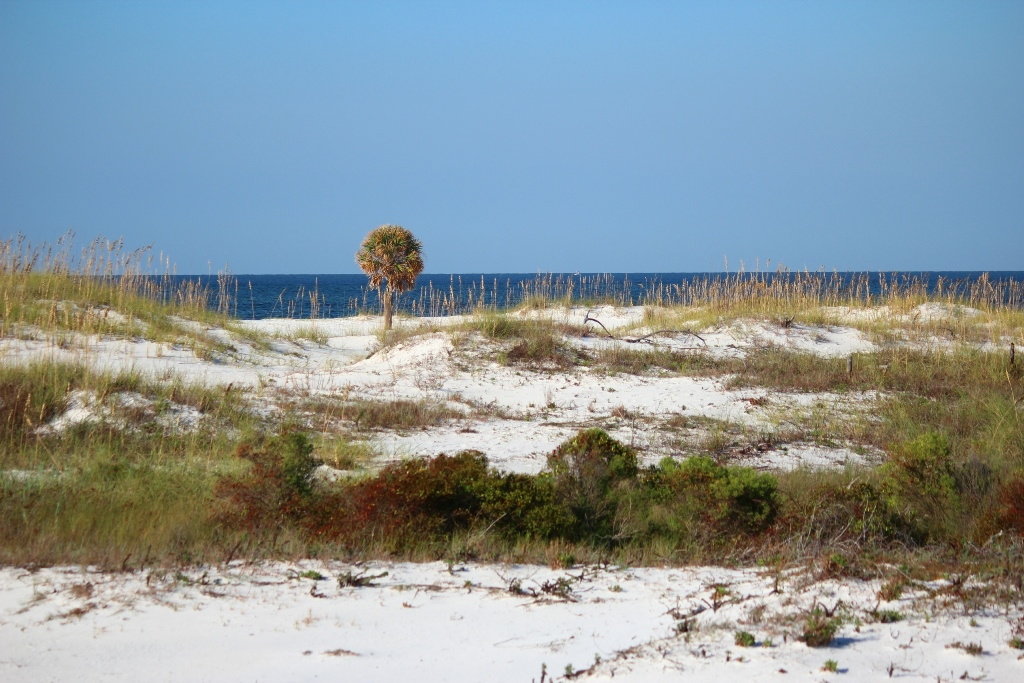 Beaches on Fort Pickens in Northwest Florida