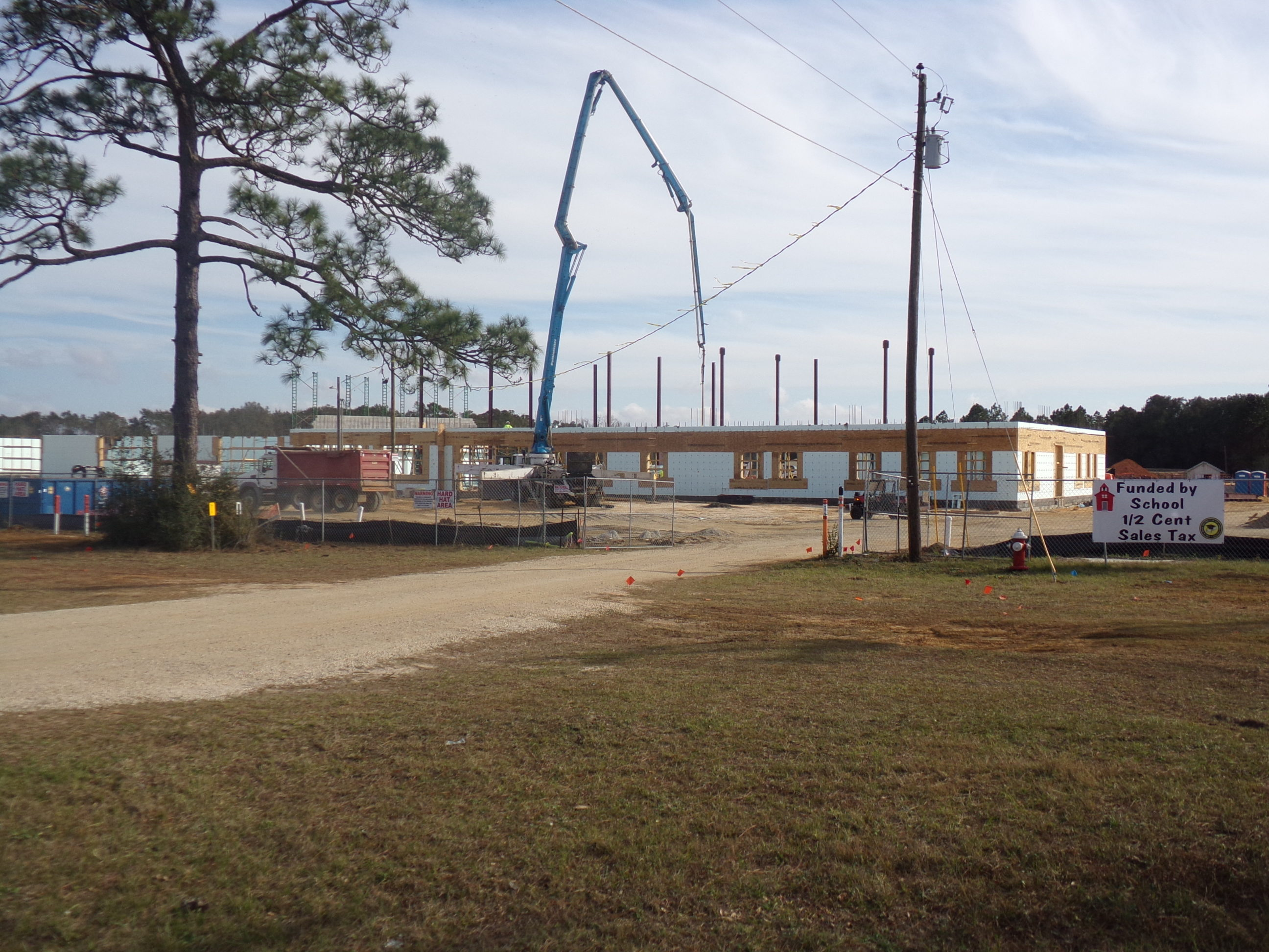 New Beulah Middle School in Pensacola, Florida 32526