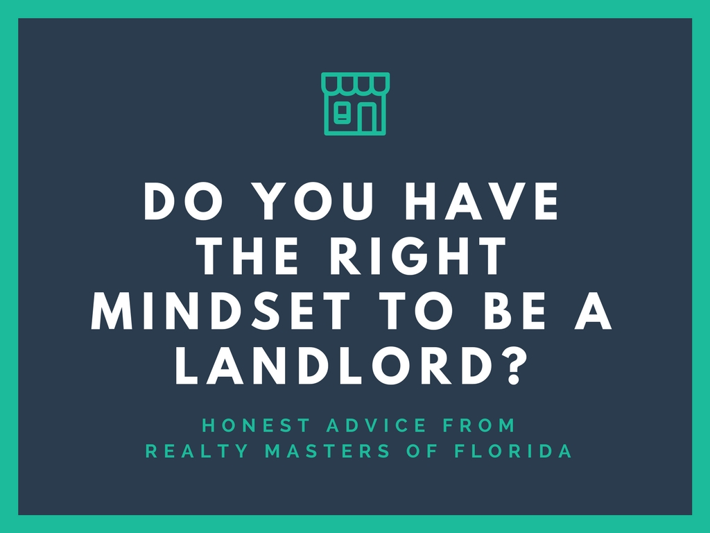 Do you have the right mindset to be a landlord
