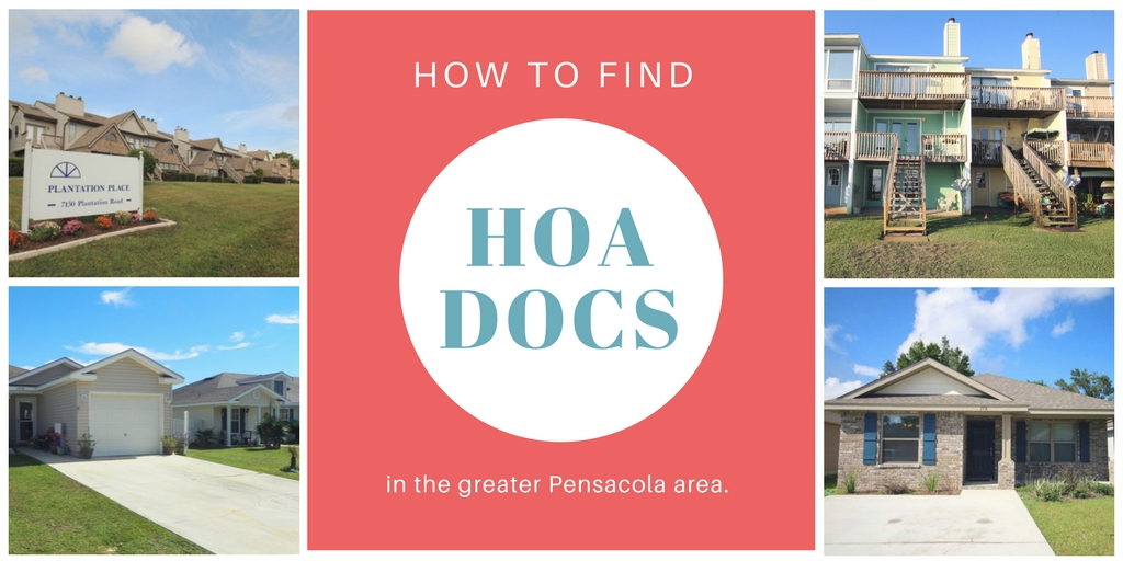 how-to-find-hoa-docs-pensacola-florida-homeowners-associations