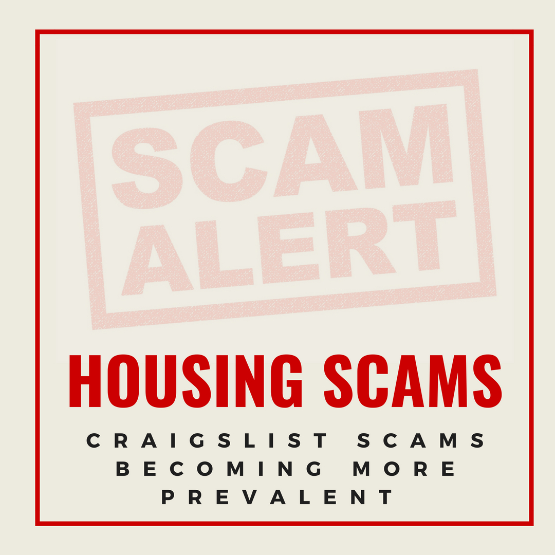 how to avoid online housing scams and craigslist